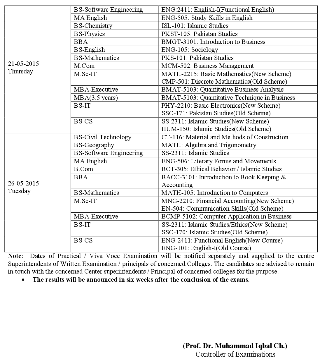 private-colleges-date-sheet-1st-Term-3