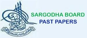 BISE SARGODHA BOARD PAST PAPERS