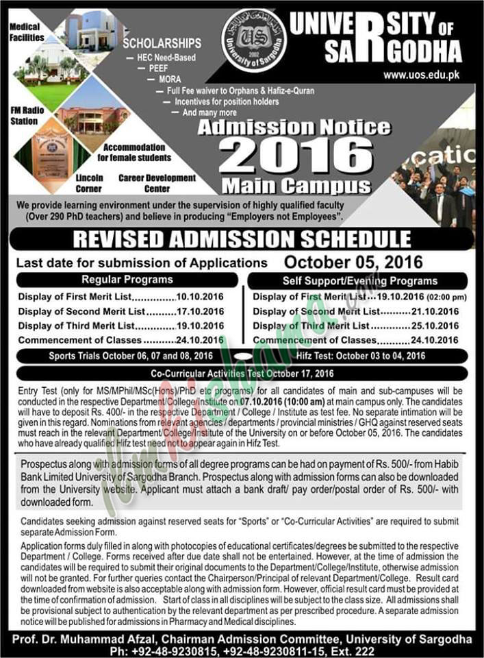 revised-admission-schedule-uos