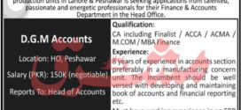 Finance & Accounts Department Job in FF Steel 2021